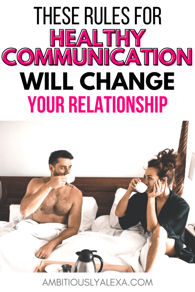 healthy communication in relationships worksheets