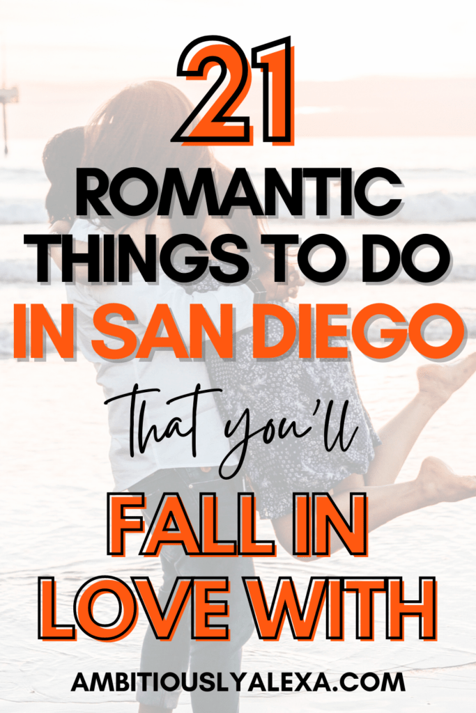 romantic things to do in san diego at night