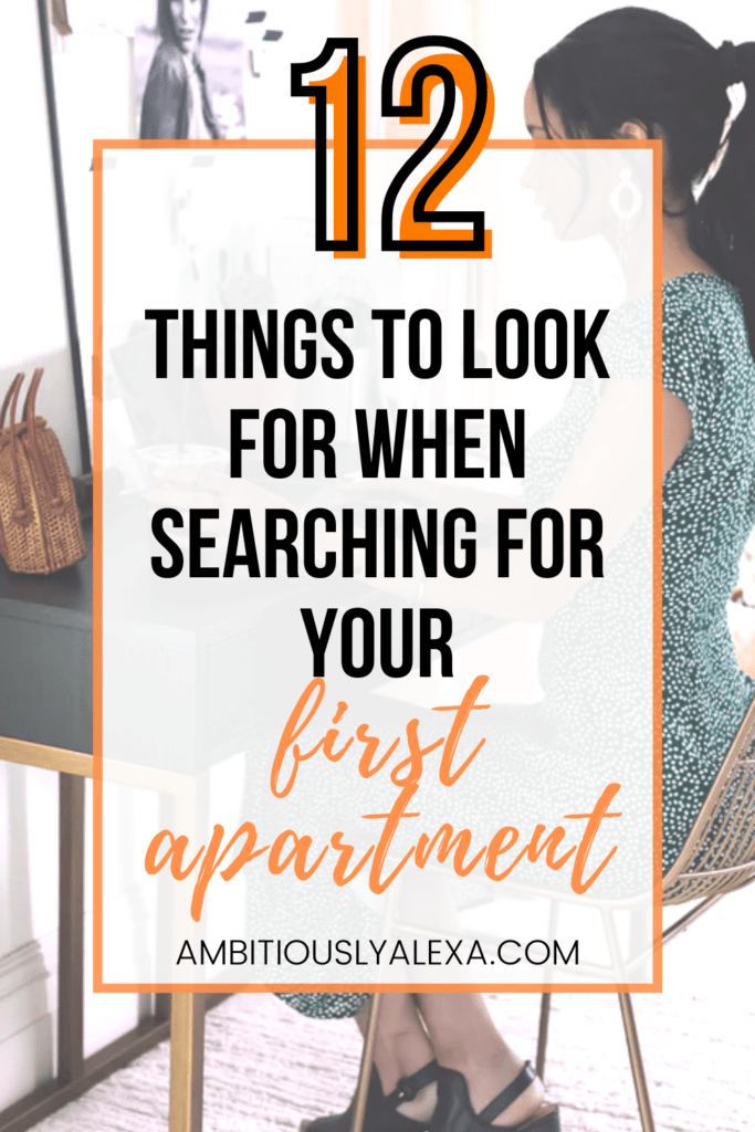 what to look for when renting your first apartment