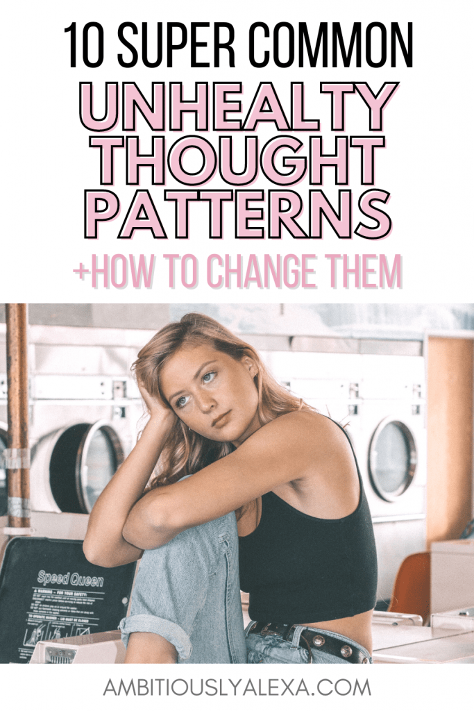 what are negative thought patterns