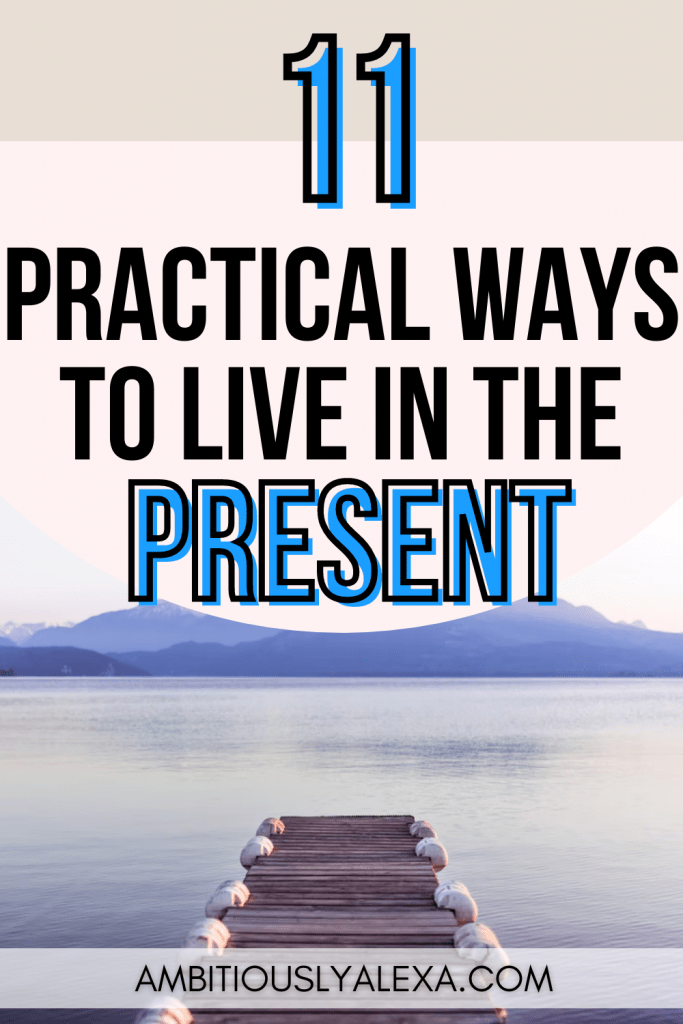 how to live in the present moment pdf
